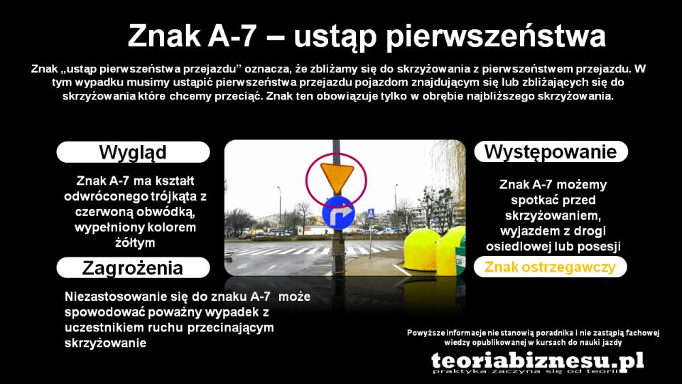 znak a-7