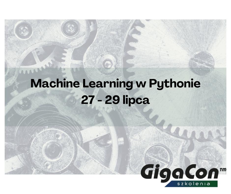 szkolenie Machine Learning w Pythonie