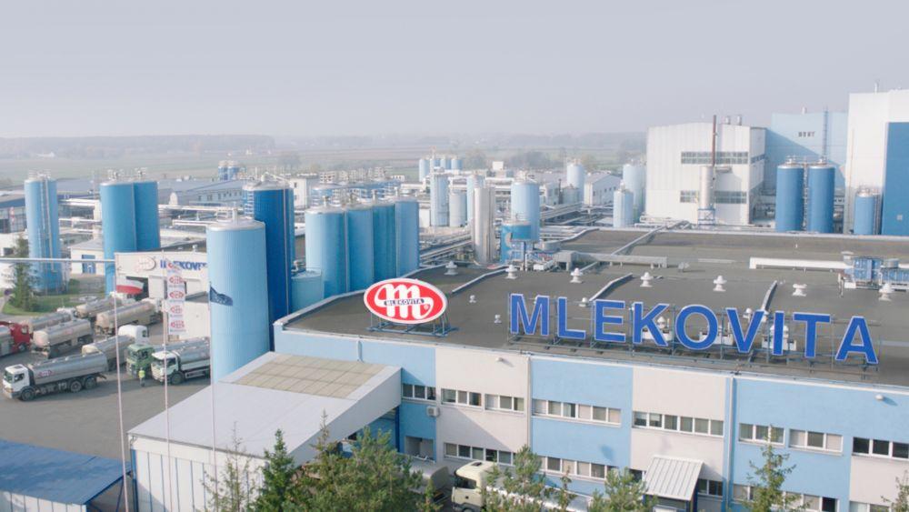 zakład produkcyjny Mlekovita