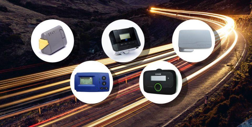 Wielofunkcyjne urządzenia do opłat drogowych w Europie.