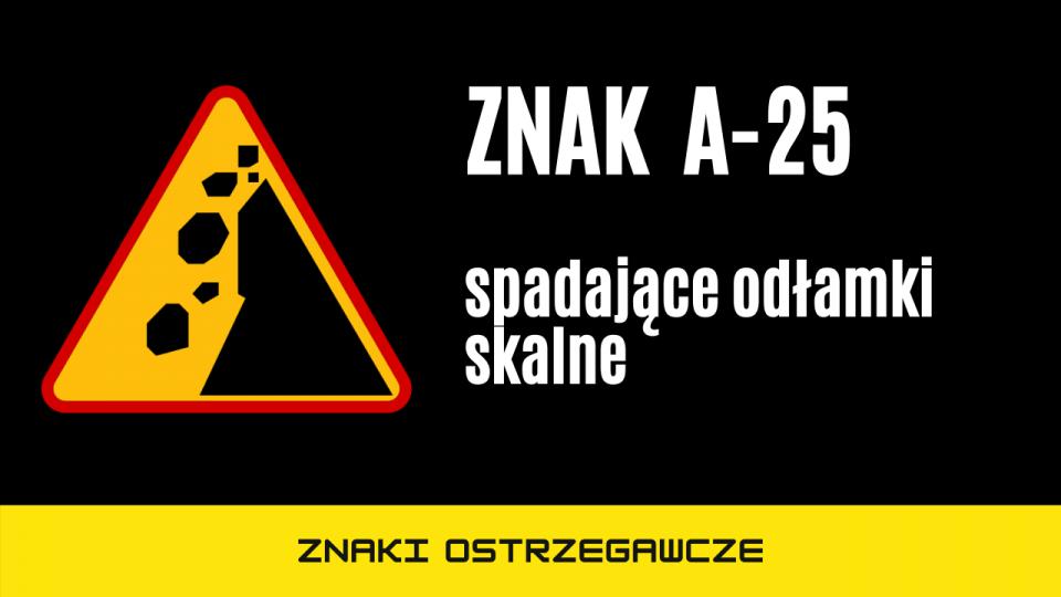 znak a25