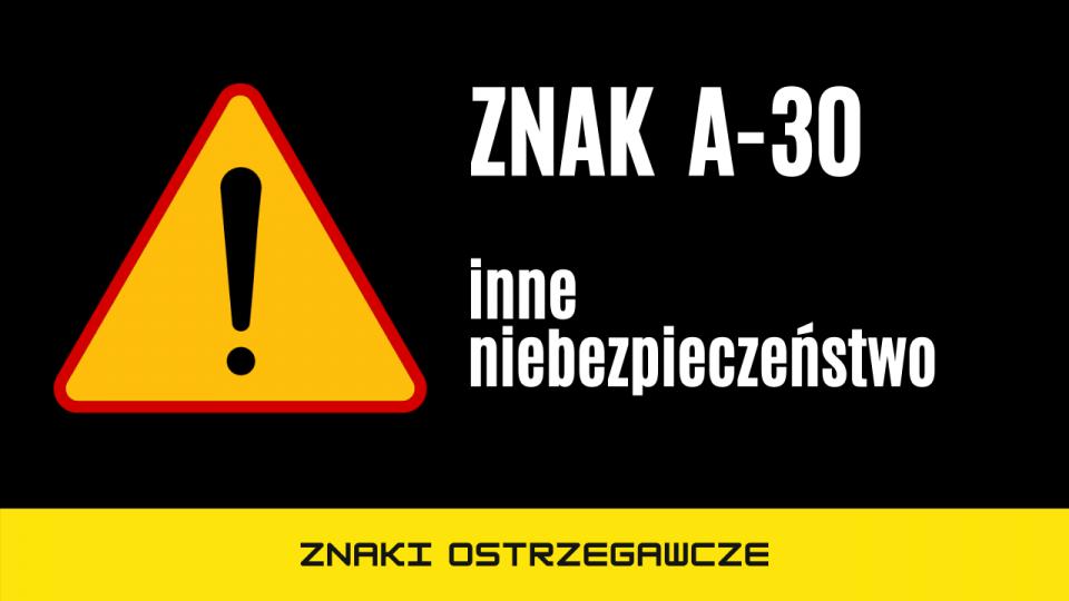 znak a30