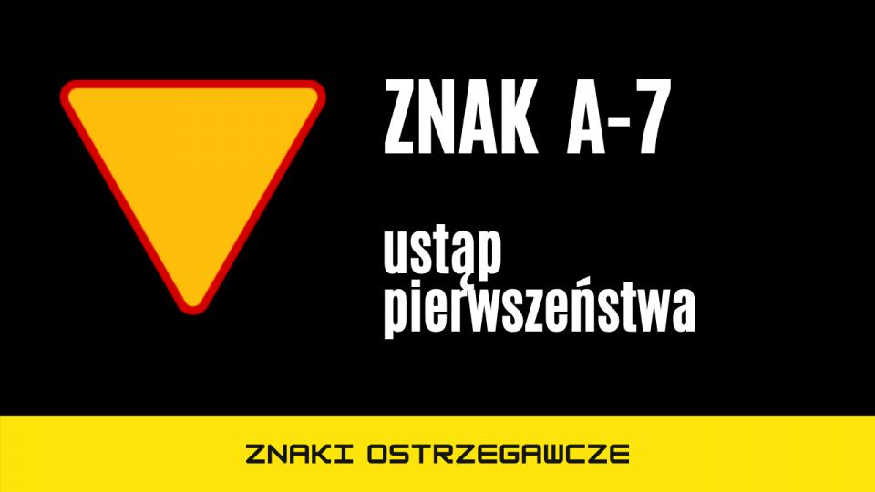 znak a7