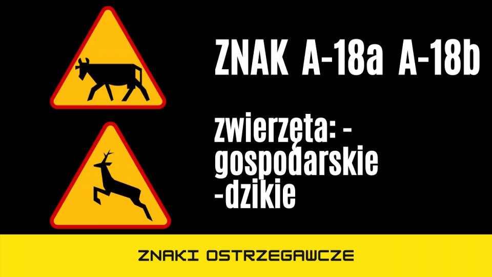 znak a18a a18b