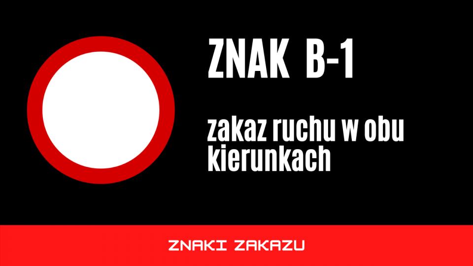 znak b1