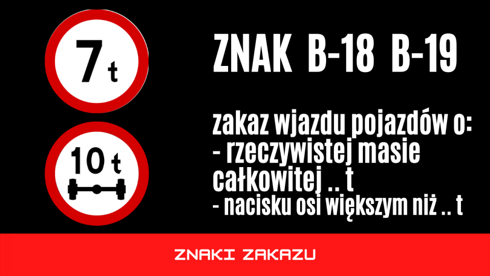 znak b18 b19