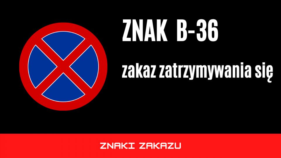 znak b36